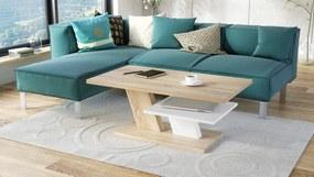CLIFF dub sonoma / biely konferenčný stolík