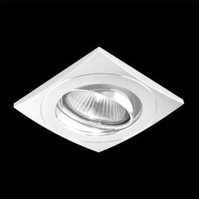 Emithor 71030 ELEGANT METAL zápustné svietidlo GU10 / 50W, biela