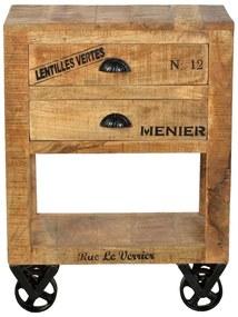 SIT MÖBEL Komoda RUSTIC 60 × 30 × 80 cm