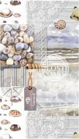 Plážová osuška s potlačou Good Morning Abel, 100 x 180 cm