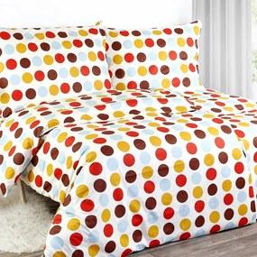 Goldea bavlnené posteľné obliečky - vzor 314 140 x 200 a 70 x 90 cm