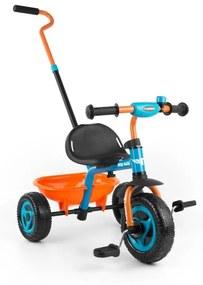 MILLY MALLY Nezaradené Detská trojkolka Milly Mally Boby TURBO orange Oranžová |