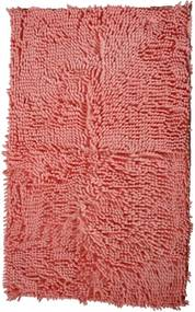 BO-MA koberce Protiskluzová koupelnová předložka RASTA MICRO růžová - 50x80 cm