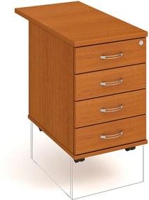 Kontajner UNI, 4 zásuvky, strop, buk