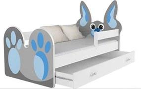 GL Králiček detská posteľ 180x80 Motív: Vzor 02