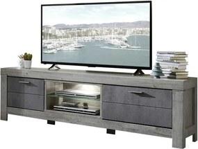 Sconto TV stolík PORTO dub/betón