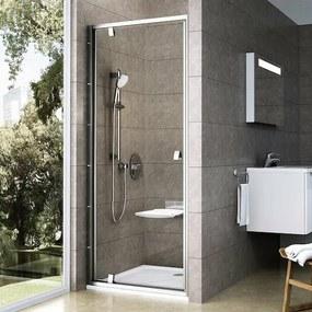 Sprchové dvere 90x190 cm Ravak Pivot chróm matný 03G70U00Z1