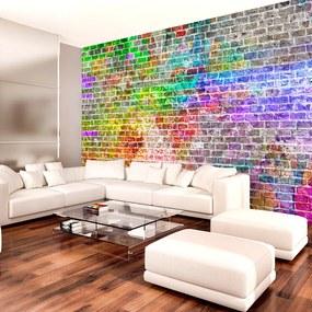 Fototapeta - Dúhová stena 200x140 + zadarmo lepidlo