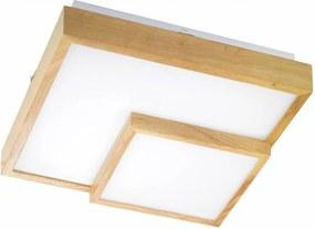 Stropné svietidlo WOFI Hudson drevo 9042.01.51.8100