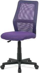 Sconto Kancelárska stolička GLORY fialová