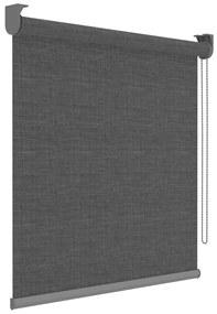 Decosol Zatemňovacia roleta Deluxe antracitová priehľadná 150x190 cm