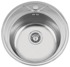 Sinks nerezový drez REDONDO 510 M matný