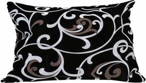 Dekoračný vankúšik Orient čierny