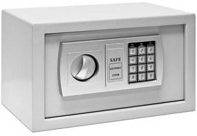 InternetovaZahrada - Bezpečnostný trezor Defer - 31x20x20cm - sivý