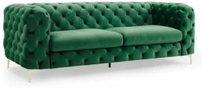 Modern Barock sedačka zelená