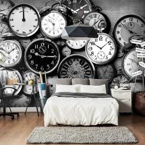 Fototapeta Bimago - Retro Clocks + lepidlo zadarmo 150x105 cm