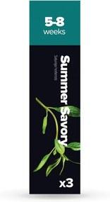 Sada 3 kapslí so semienkami byliniek Plantui Summer Savory