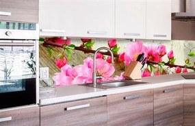 Samolepiace tapety za kuchynskú linku, rozmer 260 cm x 60 cm, sakura, DIMEX KI-260-053