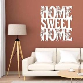 Drevená 3D nálepka na stenu - Home Sweet Home