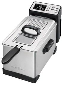 411002 ProfiCook 411002 Fritéza PC-FR 1087 2000 W 3 L Strieborná
