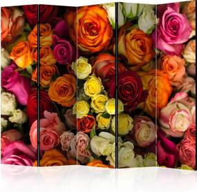 Paraván - Bouquet of Roses II [Room Dividers] 225x172