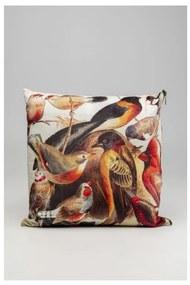 KARE DESIGN Sada 3 ks Dekoratívny vankúš Birds Life 45x45 cm