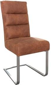 Stolička / konzola Comfort Vintage svetlo hnedá