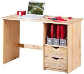 Písací stôl Sinus, borovica