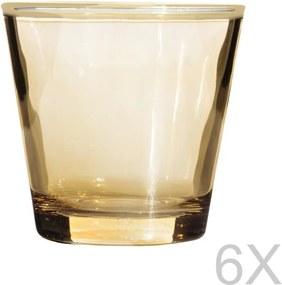 Sada 6 pohárov Mezzo Hero, 85 ml
