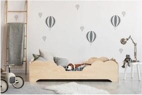 Detská posteľ z borovicového dreva Adeko BOX 10, 80 × 180 cm