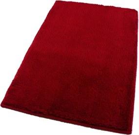 ROUTNER Kúpeľňová predložka UNI COLOR Červená 10105 - Červená / 60 x 100 cm 10105