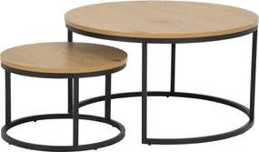 Set okrúhlych konferenčných stolíkov Gerald divý dub