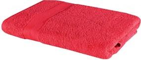 Osuška bavlnená červená 70x140 cm EMI
