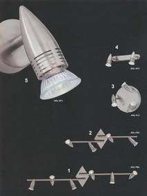 nástenné a stropné svietidlo Ideal lux ALFA 2x50W GU10