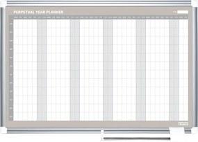 Bi-Office Ročná plánovacia tabuľa LUX, 900x600 mm