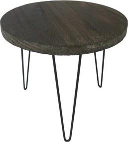 Sconto Prístavný stolík GREGOR ø 35 cm