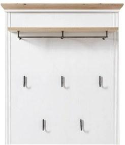 Sconto Predsieňový panel JASMIN pínia biela/dub