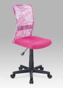 Detská kancelárska stolička KA-2325 PINK Autronic
