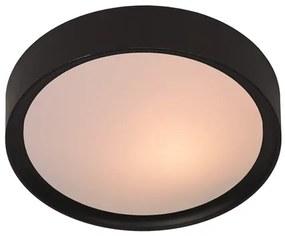 Lucide 08109/02/30 Moderné stropné svietidlo LEX Ceiling Light 2xE27, 36cm, čierne