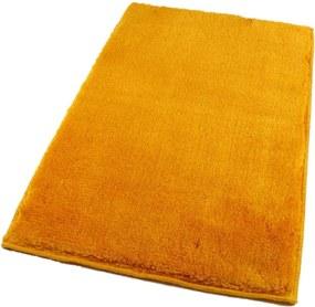 ROUTNER Kúpeľňová predložka UNI COLOR Žltá 10114 - Žltá / 60 x 100 cm 10114