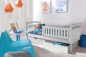 Dětská postel DP 001 + zásuvky 180 cm x 80 cm