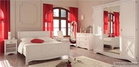 Spálňa Netie - transparentne biela