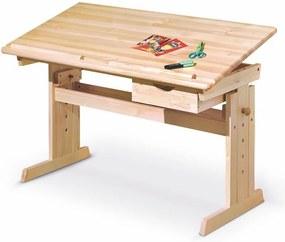 Halmar Detský rastúci stôl Julia - prírodný