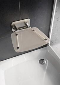 Sprchové sedátko Ravak OVO B sklopné š. 36 cm číra B8F0000051