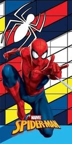 DETEXPOL Osuška Spiderman 3D Bavlna Froté, 70/140 cm
