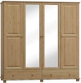 AMI nábytok Skříň č.3 olše šířka 180 cm