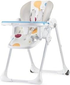KINDERKRAFT Detská jedálenská stolička Fini Yummy – Multi
