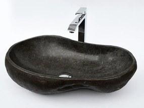 Umývadlo z prírodného riečneho kameňa The Lavabo Cut - malé