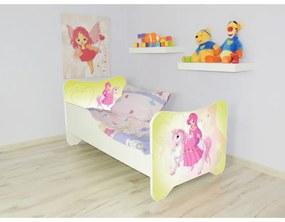 Detská posteľ s obrázkom 140x70 - Pony