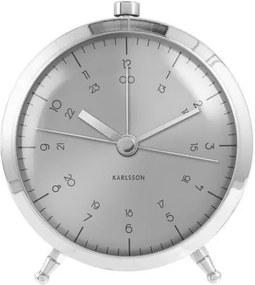 Designový budík KA5599SI Karlsson 9cm